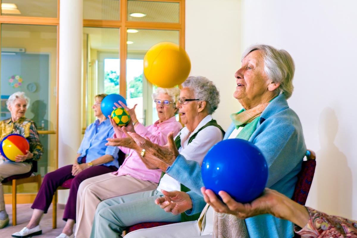 Bewegungsförderung in der Pflege