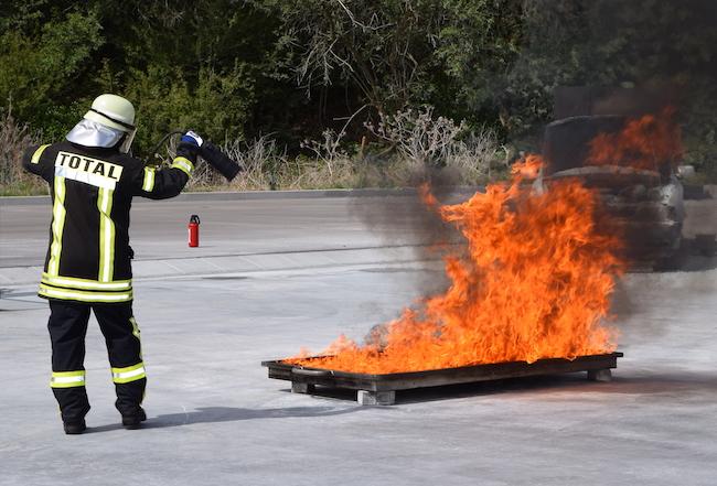 Brandschutz – richtiges Löschen will gelernt sein