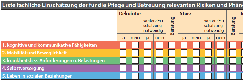 Strukturmodell zur Entbürokratisierung