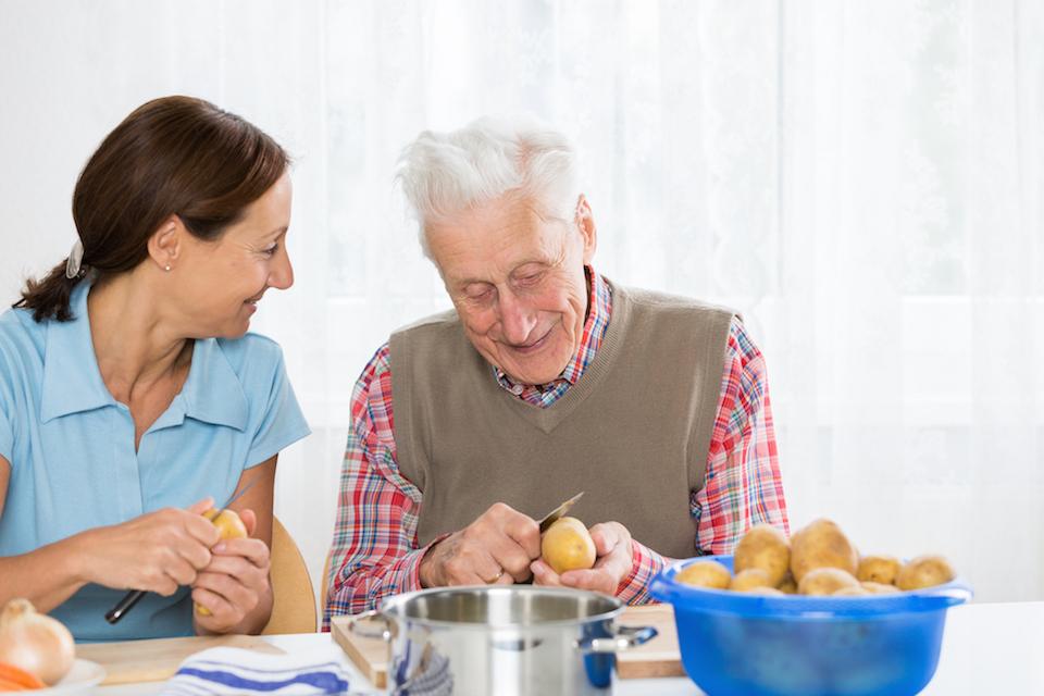 (Mangel-) Ernährung bei Demenz