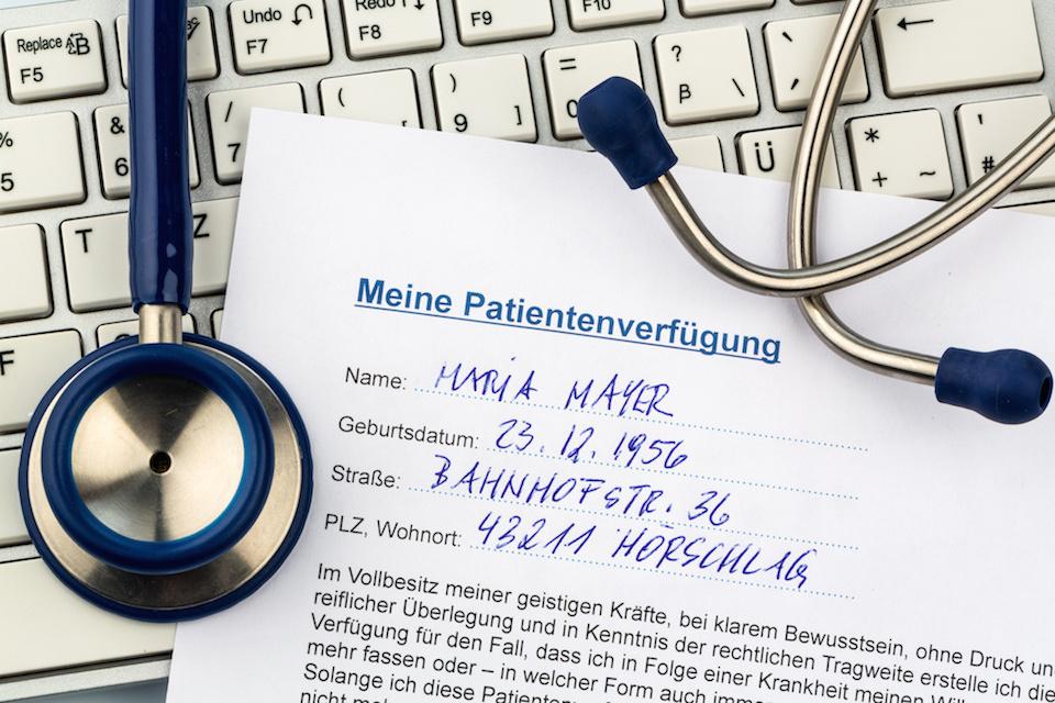 Umgang mit Patientenverfügungen
