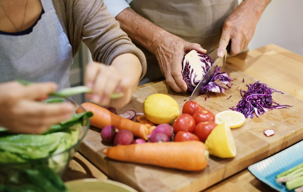 Hygiene bei Speisen und Lebensmitteln
