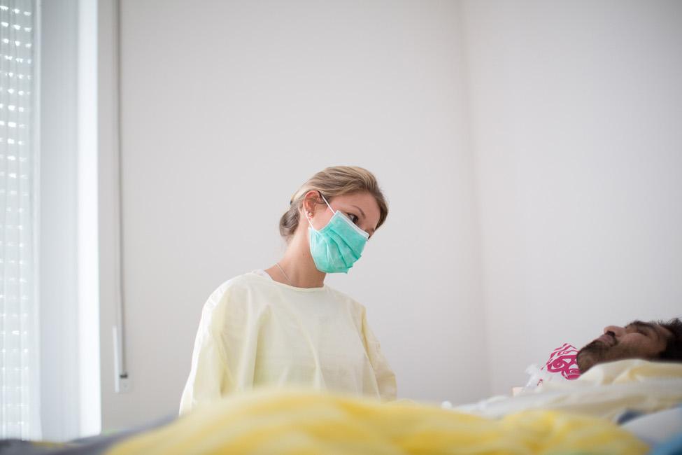 Hygienemaßnahmen für Pflegekräfte bei MRGN