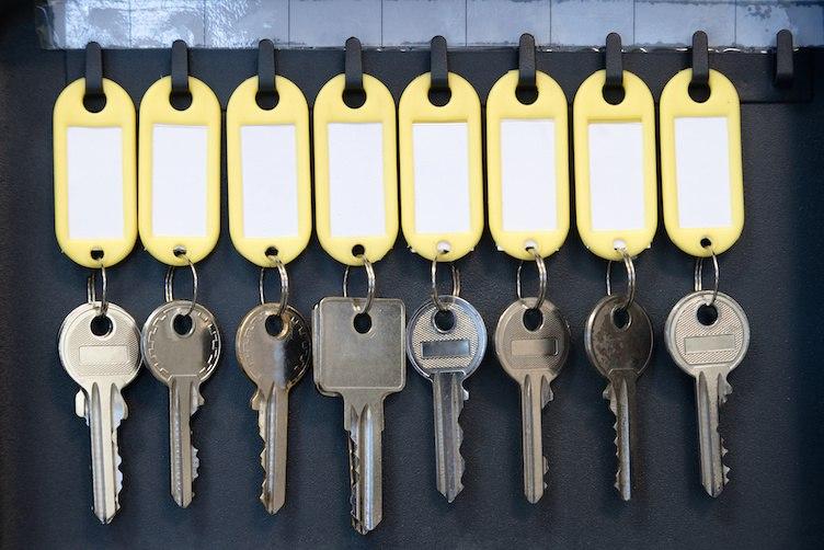 Der richtige Umgang mit den Wohnungsschlüsseln